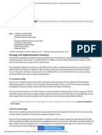 Electronics Retailer Business Plan Sample - Strategy and Implementation _ Bplans4