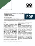SPE 26962 Reservoir Characterization Using Multiple Formation Pressure Tester El Furrial