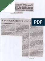 Manila Bulletin, Aug. 8, 2019, Angara urges Congress to avoid reenacted budget.pdf