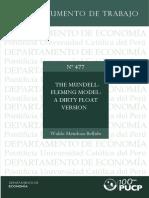 The Mundell Fleming Model