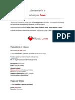Ejemplo Clases de Musica