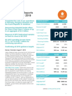 Liberty Global Q2 2019 Press Release