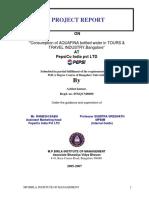 Achint Kumar-0506-Pepsi Aquafina Bottle Water in Tours & Travel Industry.pdf