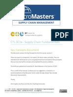 supply chain fundamentals Micro Masters