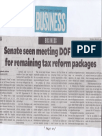 Philippine Daily Inquirer, Aug. 8, 2019, Senate seen meeting DOF timetable for remaining tax reform packages.pdf