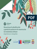 Manual(1) PARA PLANIFICACION Y GESTION DE PROYECTOS DE CONSERVACION EN ECOSISTEMAS URBANOS.pdf