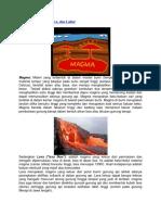 Perbedaan Magma LAHAR LAVA.docx