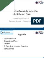 108 Guillermo Pacheco - Retos y Desafios de La Inclusion Digital en El Peru (A201 10.08.2017 11.30 )