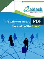 Web Technology Brochure