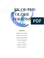Care of the Older Person (Group2)