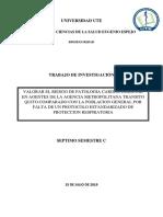 Proyecto. Bioseguridad Agencia Metropolitana de Transito 1.1