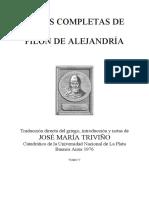 Filon de Alejandria - De vita contemplativa