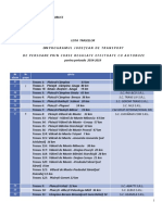 Lista Traseelor Din Programul Judetean de Transport Pentru Perioada 2014-2019