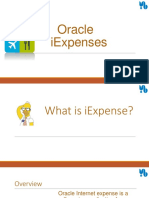Oracle Iexpenses