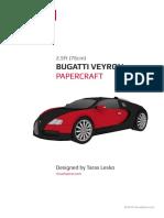 Bugatti Veyron Instructions