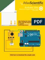 Arduino Uno DO Sample Code