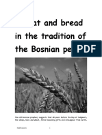 Wheat and Bread in the Tradition of the Bosnian People