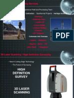 3D Laser Scanning Presentation