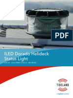 ILED Dorado Helideck Status Light Specification Sheet