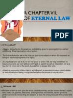 Of Eternal Law