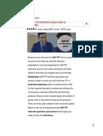 SAP-PP Interview Questions _ Wisdom Jobs India