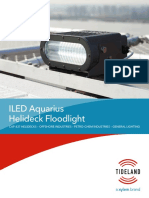 ILED Aquarius Helideck Floodlight Specification Sheet