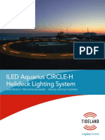 ILED Aquarius CIRCLE H Helideck Lighting System Specification Sheet