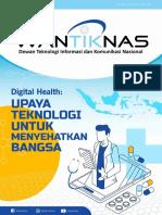 e-Buletin WANTIKNAS_Digital Health Upaya Teknologi Untuk Menyehatkan Bangsa