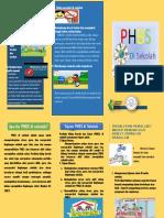Leaflet Phbs Di Sekolah