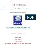 182869072 Seminar Report on e Ball Technology