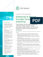 Service Datasheet Enterprise Service Provider Routing Switching Intelligence Service