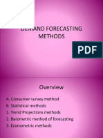 PPT Demand Forecasting Methods