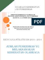Upaya Kesorga Pkm 2013