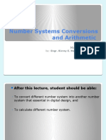 CoENG001L Midterm Lecture 2 Number Systems Conversions and Arithmetic and Complement