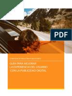 Guia Para Mejorar La Experiencia Del Usuario Con La Publicidad Digital