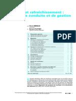 Chauffage et rafraîchissement systèmes de conduite et de gestion