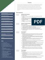 Examples Eight VisualCV Resume