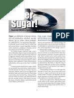 Sugar - The White Death