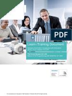 Siemens Training document