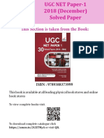 Disha Publication Ugc Net Paper-1 2018 December