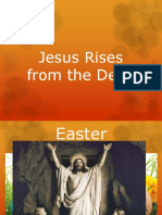 Jesus Rises From the Dead