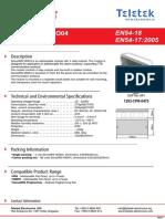 Manual de Utilizare Modul Adresabil Cu 4 Iesiri Releu Teletek SensoIris MIO04