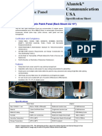 306-8 Series - 4U 19inch Fiber Optic Patch Panel V1.1H