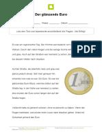 Der glanzende Euro
