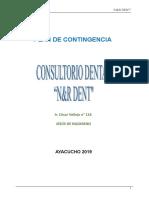 Plan de Contingencia n&r Dent