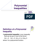 Polynomial Inequalities.ppt