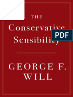 George F Will - The Conservative Sensibility