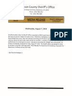 Jefferson County Sheriff's Office Aug. 7, 2019