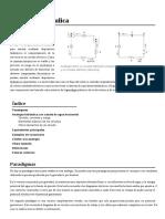 Analogia Hidraulica