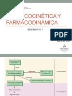 FARMACO CINÉTICA Y FARMACODINÁMICA
